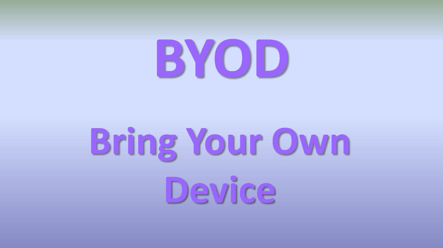 BYOD - ontsecretaressen