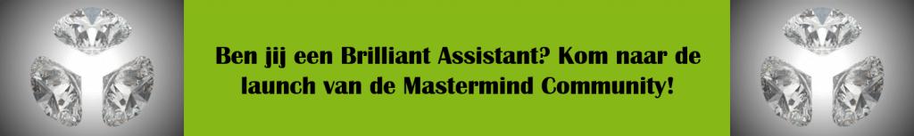 Brilliant Assistant Mastermind Community - launch banner